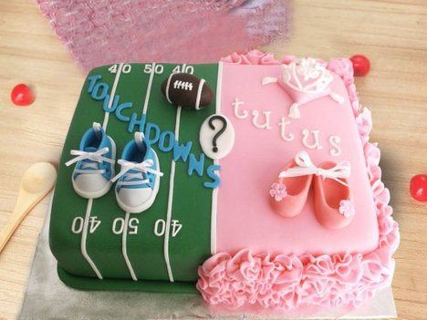 Baby Shower Cake-1 Boy Or Girl